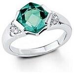 Große Größen: Ring, s.Oliver, »SO978«, grün, Gr.16,5 = 52 mm Umfang-18,5 = 58 mm Umfang