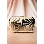 Darling Divine 30s Golden Art deco Evening Clutch