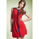 Šaty Nife S27, červená