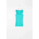 Tally Weijl Turquoise Basic Vest Top