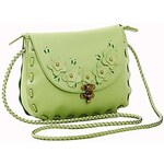 LightInTheBox Women's Vintage Flower PU Crossbody Bag
