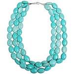 LightInTheBox JANE STONE Turquoise Fashion Chunky Statement Necklace