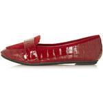 Topshop MARDI2 Croc Slippers