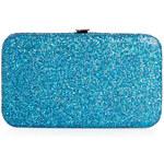Topshop Teal Glitter iPhone 5 Purse