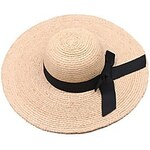 LightInTheBox Women'S Hand Lafite Straw Sun Beach Bow Hats