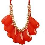 LightInTheBox JANE STONE Red Drop Shaped Fashion Bib Statement Necklace