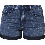 Pieces JUST JUTE SNOW Jeans Shorts medium blue denim