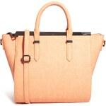 ASOS Handheld Bag with Metal Bar and Winged Detail - Orange