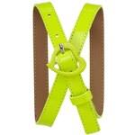 Gap Neon Heart Belt - Neon lemon yellow
