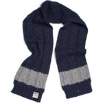 Tommy Hilfiger Colorblock Cable Scarf