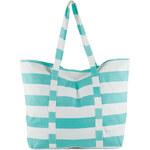 Esprit Pruhovaná nákupní taška