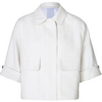 Burberry Brit Cotton Cropped Sleeve Jacket