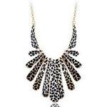 LightInTheBox Fashion Vintage Leopard print Enamel Casting Choker Necklace