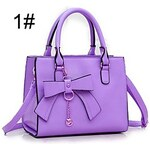 LightInTheBox Women's Fashion Bow PU Tote