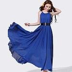 LightInTheBox Women's Chiffon Big Swing Bohemia Slim Maxi Dress