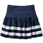 Gap Flared Stripe Skirt - Blue galaxy