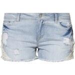 Object Jeans Shorts medium blue denim