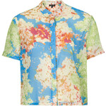 Topshop Multi Floral Shirt