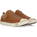UGG Australia Chestnut Shearling Suede Evera Sneakers