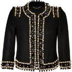 Moschino Embellished Cropped Jacket