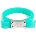 Marc by Marc Jacobs Jelly Bow Bangle in Aqua Lagoon