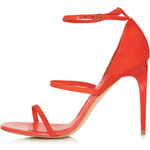 Topshop RIPPLE Skinny Strap Sandals