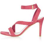 Topshop REAL Asymmetric Sandals