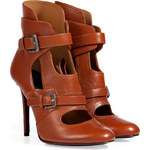 Laurence Dacade Leather Ankle Boots in Camel