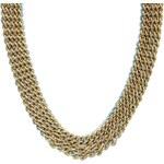 ALDO Raisch Chain & Faceted Bead Collar Necklace - Blue