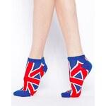 ASOS Union Jack Ankle Socks
