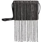 Maison Martin Margiela Crystal Fringed Leather Shoulder Bag