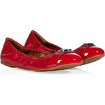 Marc by Marc Jacobs Coral Patent Leather Logo Plaque Flats