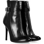 Laurence Dacade Leather Ankle Boots in Black