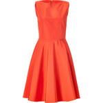 Ralph Lauren Collection Orange Cotton-Silk Rebecca Dress