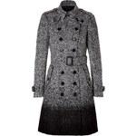 Burberry London Wool-Blend Callcott Coat in Black Check