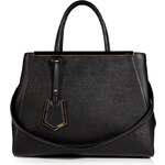 Fendi Leather 2Jours Tote in Black