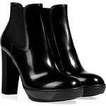 Hogan Boxcalf Ankle Boots