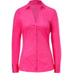 Hugo Bright Pink Stretch Cotton Emna Blouse