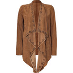 Seven for all Mankind Sue Brown Fly Away Suede Jacket