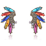 LightInTheBox Indian Style Wing Shape Colorful Earrings