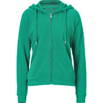 Closed Green Spruce Cotton Hoodie