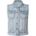 Adriano Goldschmied Light Blue Jean Vest