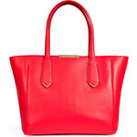 Marc by Marc Jacobs Leather Tote in Apple Red