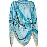 Emilio Pucci Silk Drawstring Waist Poncho