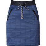 Jonathan Simkhai Cotton-Viscose Stretch Utility Tech Skirt in Navy