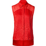 Preen by Thornton Bregazzi Harley Shirt in Red
