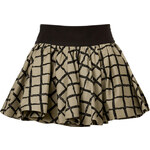 Rag & Bone Tan/Multi Cotton Daisy Skirt
