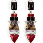 Mouton Collet Divine Earrings in Ruby