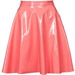 Topshop Vinyl Skater Skirt