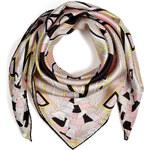 Emilio Pucci Silk Print Scarf in Rosa